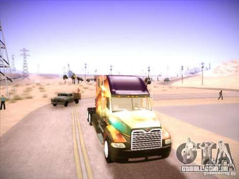 Mack Vision para GTA San Andreas esquerda vista