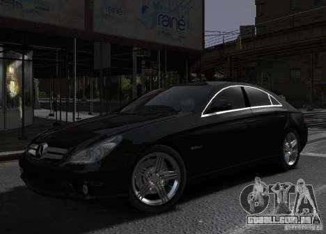 Mercedes-Benz CLS 63 AMG para GTA 4 esquerda vista