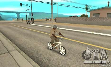 Skyway BMX para GTA San Andreas vista direita