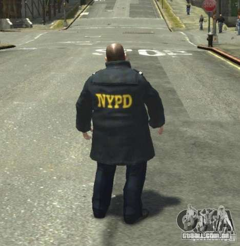 Ultimate NYPD Uniforms mod para GTA 4 nono tela