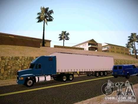 Mack ch 613 para GTA San Andreas esquerda vista