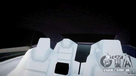Chevrolet Camaro 2009 para GTA 4 vista inferior
