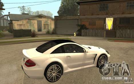Mercedes-Benz SL65 AMG BS para GTA San Andreas vista direita