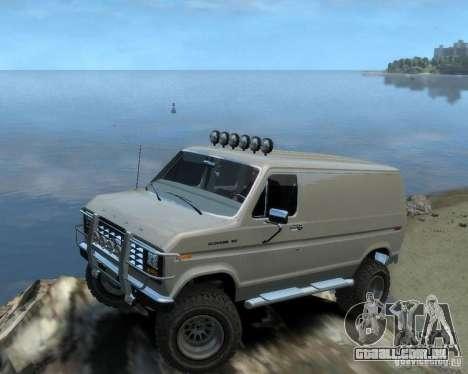 Ford Econoline 150 para GTA 4 vista direita
