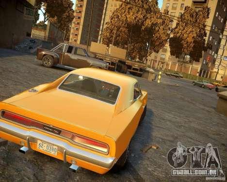 Dodge Charger Magnum 1970 para GTA 4 vista direita