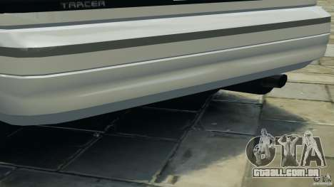 Mercury Tracer 1993 v1.1 para GTA 4 rodas