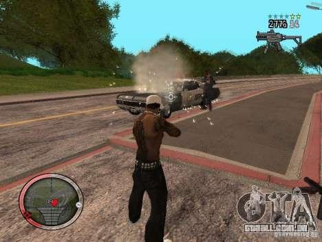 GTA IV HUD Final para GTA San Andreas sexta tela