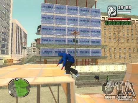 RunMan para GTA San Andreas terceira tela