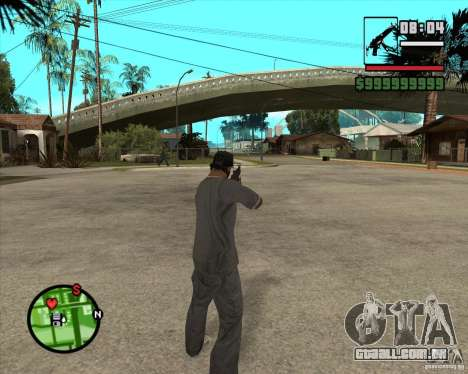 MP5 para GTA San Andreas terceira tela