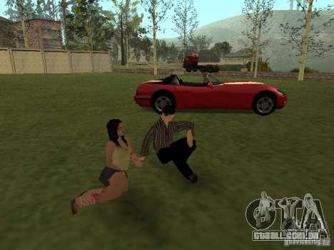 Um amor para recordar para GTA San Andreas