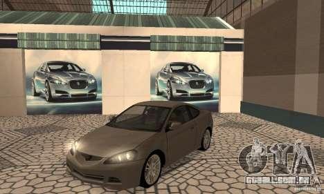 Acura RSX New para GTA San Andreas esquerda vista