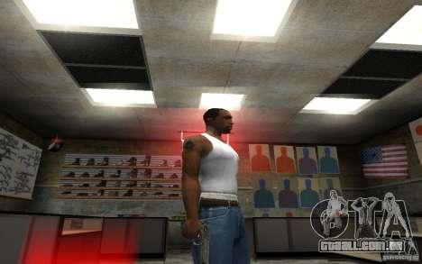 Barreta M9 and Barreta M9 Silenced para GTA San Andreas por diante tela