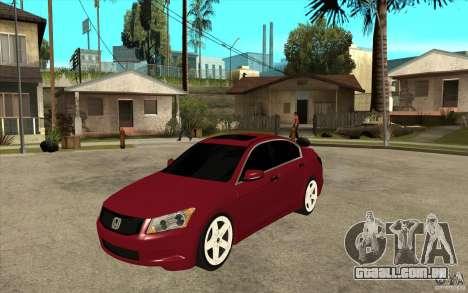 Honda Accord 2008 v2 para GTA San Andreas