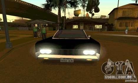 Lincoln Continental 1966 para GTA San Andreas vista direita