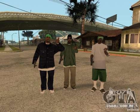 Bosque do Ballasy para GTA San Andreas por diante tela