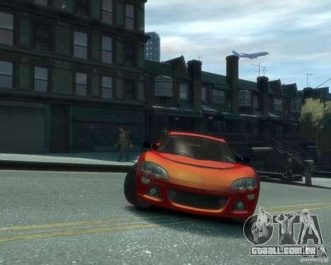 Lotus Europa S para GTA 4 vista de volta