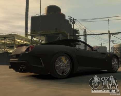 Ferrari 599 GTO para GTA 4 vista direita