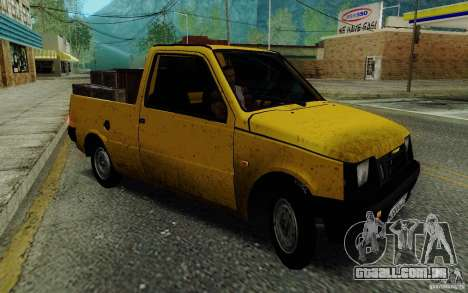 SEAZ Oka Pickup para GTA San Andreas traseira esquerda vista