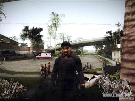 Os mercenários para GTA San Andreas terceira tela
