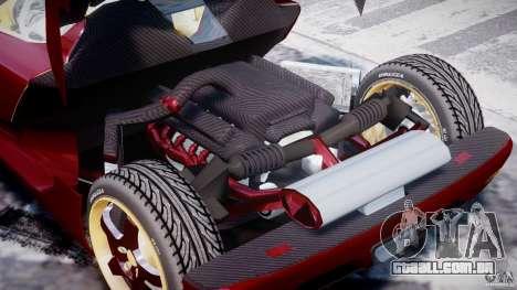 Koenigsegg CCRT para GTA 4 vista lateral