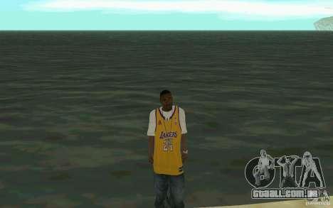 Afro-American HD skin para GTA San Andreas