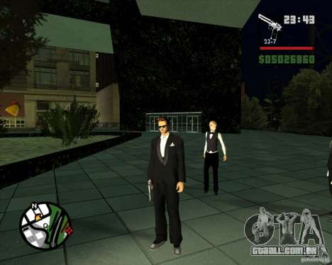 Claude Speed beta4 para GTA San Andreas segunda tela