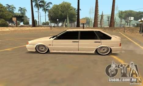 Estilo de Dag 2114 Ваз para GTA San Andreas esquerda vista