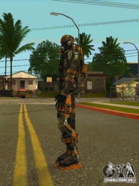 Peles de STALKER para GTA San Andreas oitavo tela