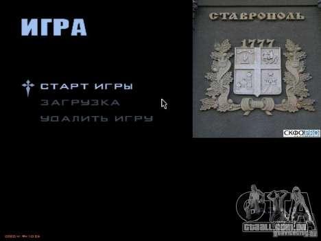 Tela de boot, a cidade de Stavropol para GTA San Andreas terceira tela