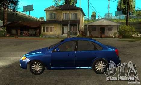 Chevrolet Optra 2011 para GTA San Andreas esquerda vista
