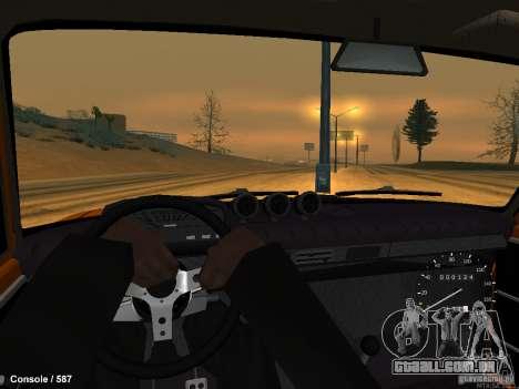 VAZ 2101 Hobo para GTA San Andreas traseira esquerda vista
