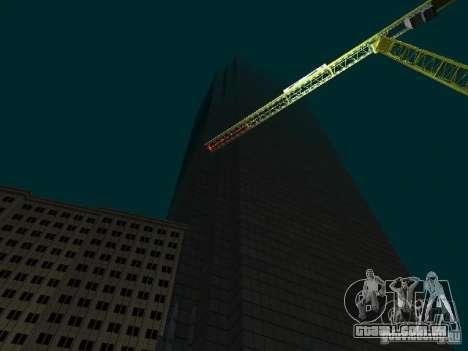 Nova cidade v1 para GTA San Andreas por diante tela