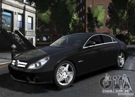 Mercedes-Benz CLS 63 AMG para GTA 4