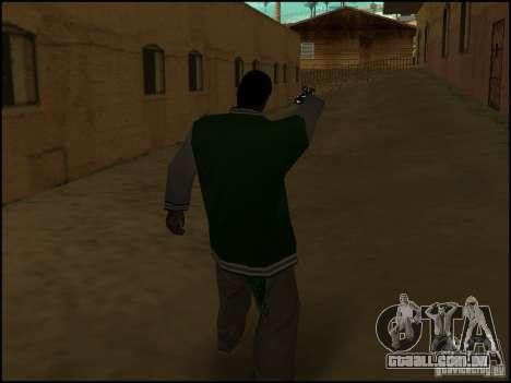 Arma na mão para GTA San Andreas por diante tela