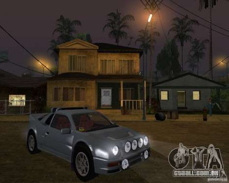 Ford RS 200 para GTA San Andreas