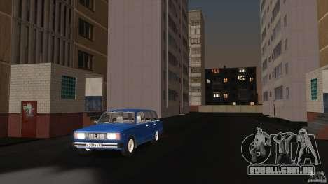 Arzamas beta 2 para GTA San Andreas segunda tela