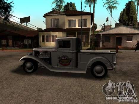 Ford Farmtruck para GTA San Andreas esquerda vista