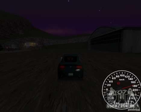 Velocímetro 2.0 final para GTA San Andreas segunda tela
