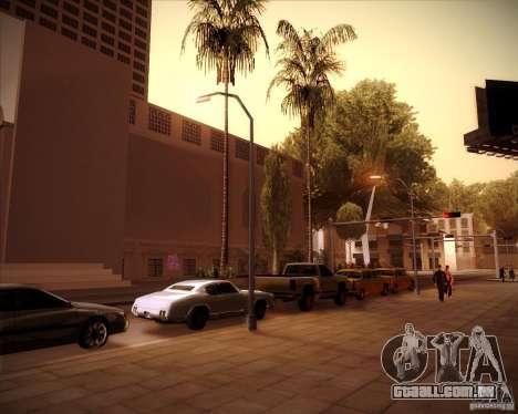 Novas texturas da prefeitura para GTA San Andreas quinto tela