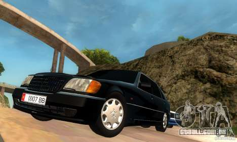 Mercedes-Benz W140 S600 Long Deputat Style para GTA San Andreas