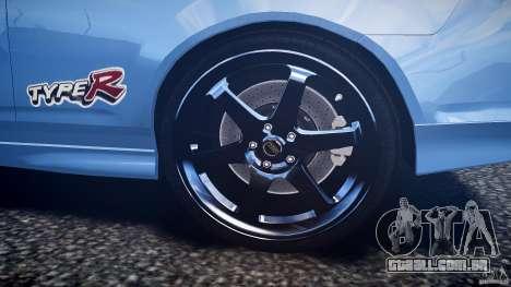 Acura RSX TypeS v1.0 Volk TE37 para GTA 4 vista inferior