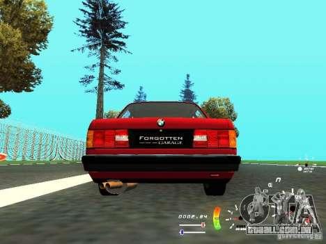 BMW E30 87-91 para GTA San Andreas vista direita