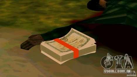 Ações da MMM v2 para GTA San Andreas por diante tela