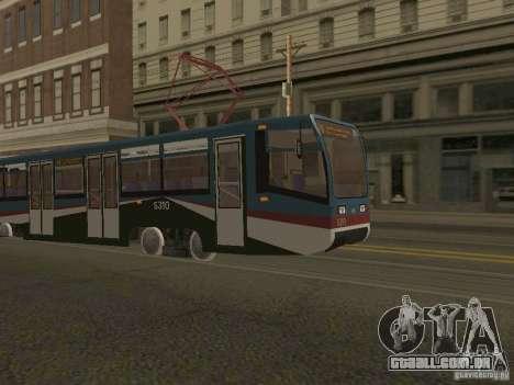 O novo bonde para GTA San Andreas segunda tela