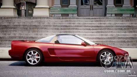 Acura NSX 1991 para GTA 4 esquerda vista