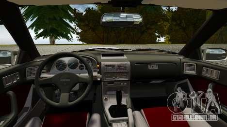 Mazda Savanna RX-7 para GTA 4 vista direita