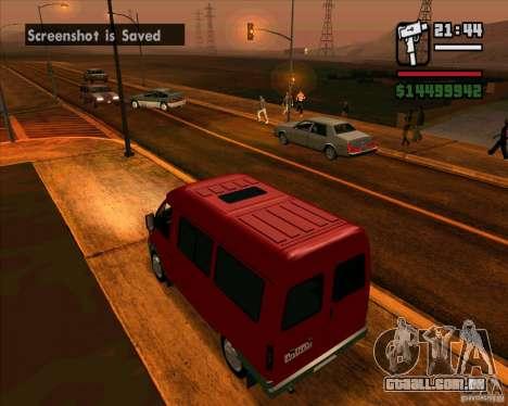 GAZ 22171 Sable para GTA San Andreas vista direita