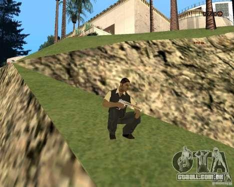 Novas animações para GTA San Andreas segunda tela