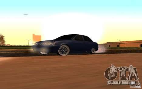 LADA PRIORA carro tuning para GTA San Andreas vista interior