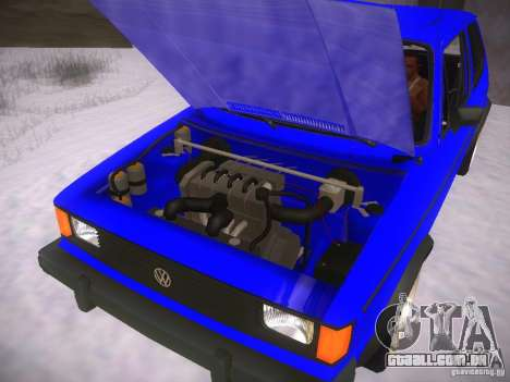 Volkswagen Rabbit GTI para GTA San Andreas vista direita
